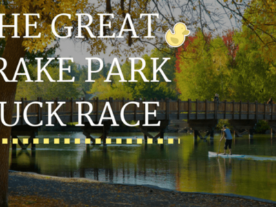 The Great Drake Park Duck Race